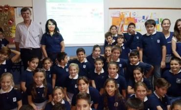 En el Día Mundial del Agua Coopelectric visitó el Colegio Libertas