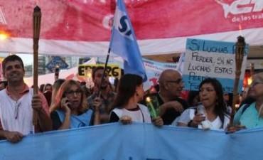 Clase pública del Frente de Unidad Docente de Olavarría