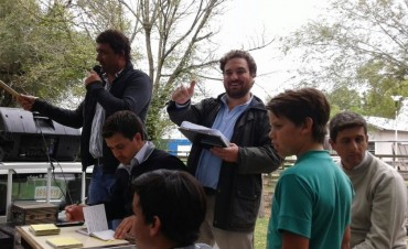 Remate Alfredo Mondino, con Ezequiel Hourcade, en Olavarría
