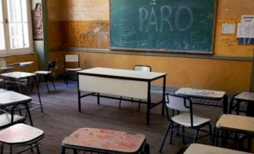 Paro docente: Provincia dice que hay un acatamiento del 37%
