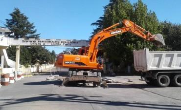 Comenzaron los trabajos de pavimentación en Sierra Chica