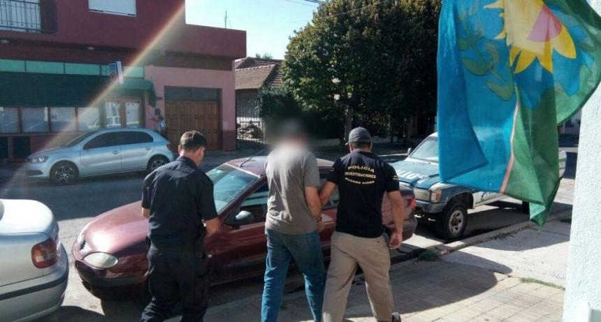 Detuvieron en la calle a acusado de abuso