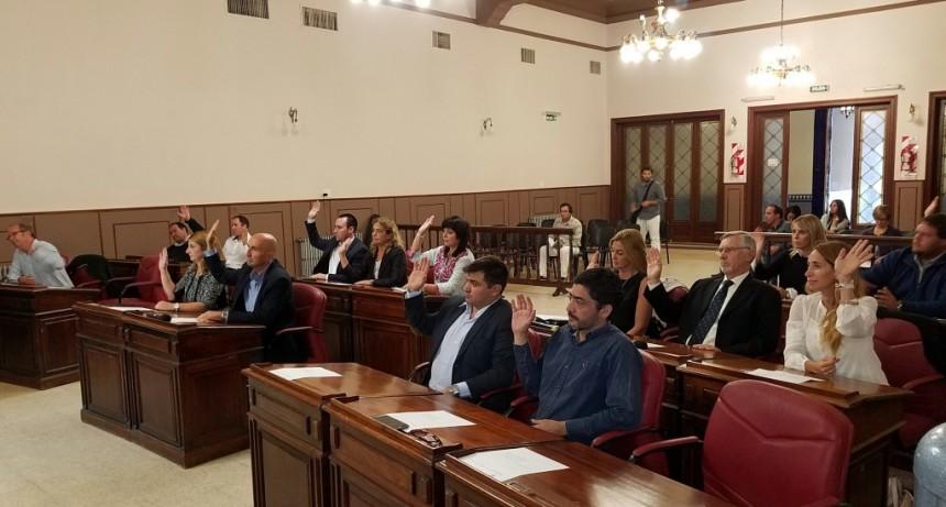 El Concejo aprobó la licencia del intendente Galli