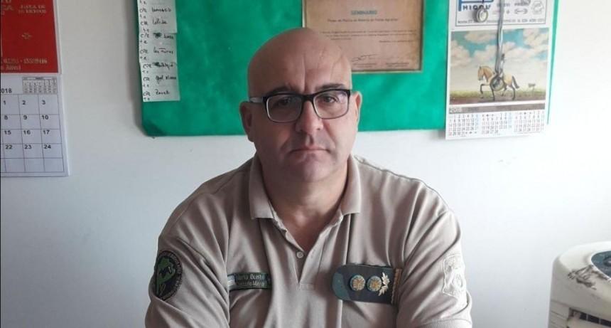 Se retiró el Comisario Mayor Mario Busto