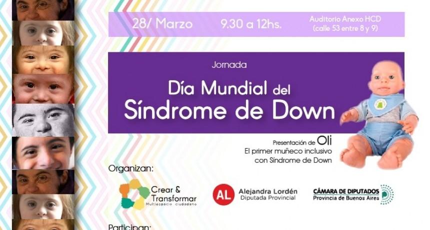 La diputada Lordén organiza jornada por el Día Internacional del Síndrome de Down