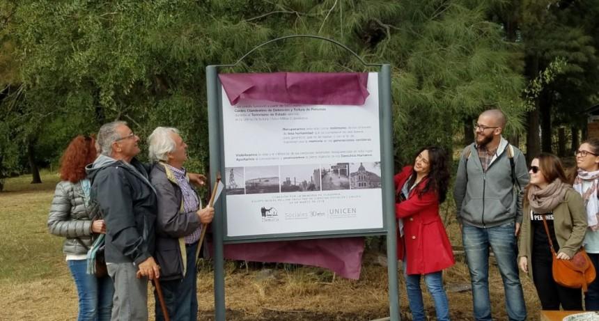 Monte Peloni: con mucha gente se inauguró la Puesta en Valor del Espacio de la memoria