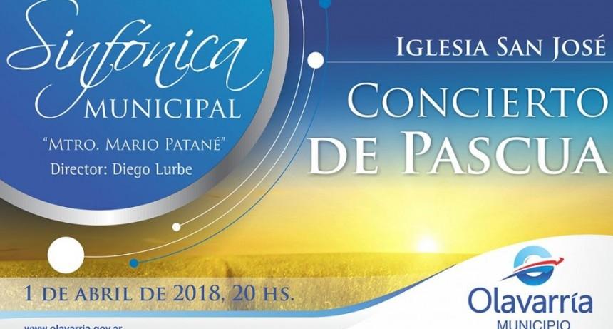 La Sinfónica brindará un Concierto de Pascua