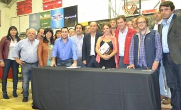 Encuentro de concejales Massistas , en Mercedes