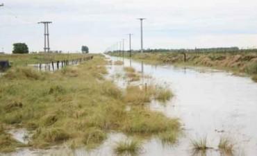 Fueron intensas las lluvias en nuestra zona