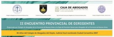 Comienza el II Encuentro provincial de Dirigentes en Azul