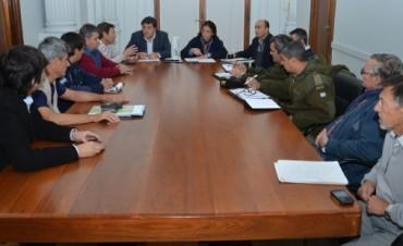 Se reunió la Comisión de Defensa Civil