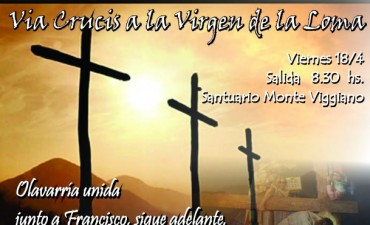 Viacrucis a la Virgen de la Loma