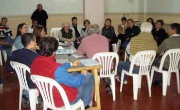 Coopelectric se reunió con los vecinos del barrio UTA