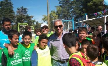 Unos 60 chicos del Programa Deporte Barrial participaron en el Encuentro de Escuelitas 'Raúl Moriones'