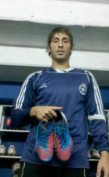 Martín Mocoroa con un pie en Ferro