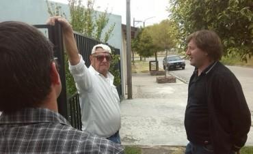 Guillermo Santellán caminó los barrios PYN, Martín Fierro y  Facundo Quiroga