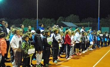 Tenis: Encuentro Nacional Sub 10 en Loma Negra