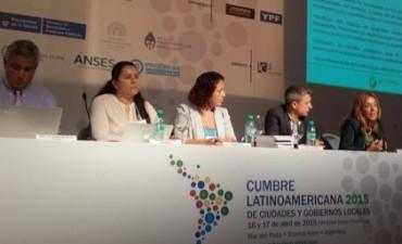 Seijo en la Cumbre Latinoamericana  de Ciudades y Gobiernos Locales