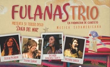 """""""Fulanas Trío"""", presenta su nuevo álbum en el Teatro Municipal"""