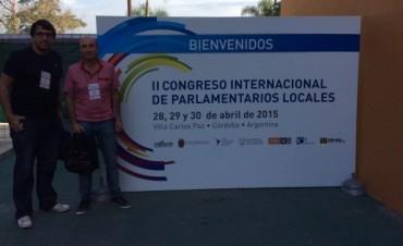 Eduardo Rodríguez en el Congreso Internacional de Parlamentarios Locales