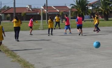Se realizó el 1er Encuentro de Handball Barrial