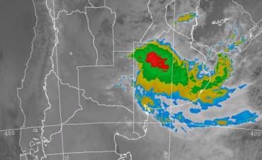 Alerta por lluvias intensas para el Centro de la Provincia