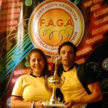Gimnasia Aeròbica:Destacada labor de San Martin