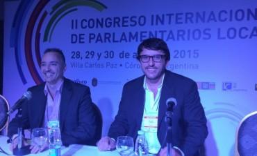 El Concejal Quiroga en el Congreso Internacional de Parlamentarios