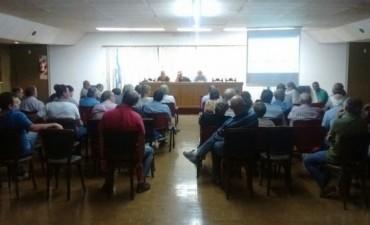 Reunión de productores rurales con la Comisión de Lucha contra las Plagas