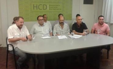 Concejales presentaron un proyecto de ordenanza para la realización de obras de cloacas