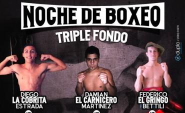 Vuelve el boxeo a Mariano Moreno