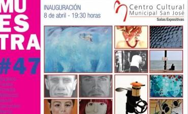 """Este viernes inaugura una nueva muestra en el Centro Cultural Municipal """"San José"""""""
