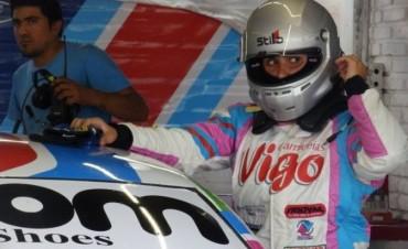 Josefina Vigo en la carrera especial en Termas de Rio Hondo