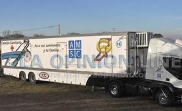 Las localidades recibiran al camion sanitario