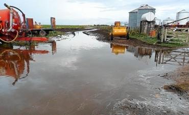 Preocupa la situación hídrica, agropecuaria y vial del Sudoeste bonaerense