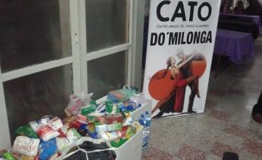 Amigos del Tango entregó donaciones a Red Solidaria