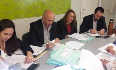 Concejo Deliberante: se definieron los temas para la 1° Sesión Ordinaria