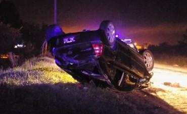 Un automovilista falleció al caer del puente de 226 y Emiliozzi