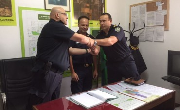 Se produjo la asunción del nuevo jefe Distrital de Policía