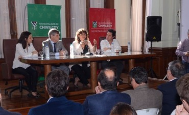 La Ministra Ortiz llegó a Chivilcoy para comenzar a diseñar el Same Provincia