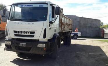 Recuperan un camión hurtado en Loma Negra