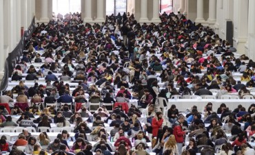 Más de 3.800 Jóvenes rindieron examen para residencias hospitalarias