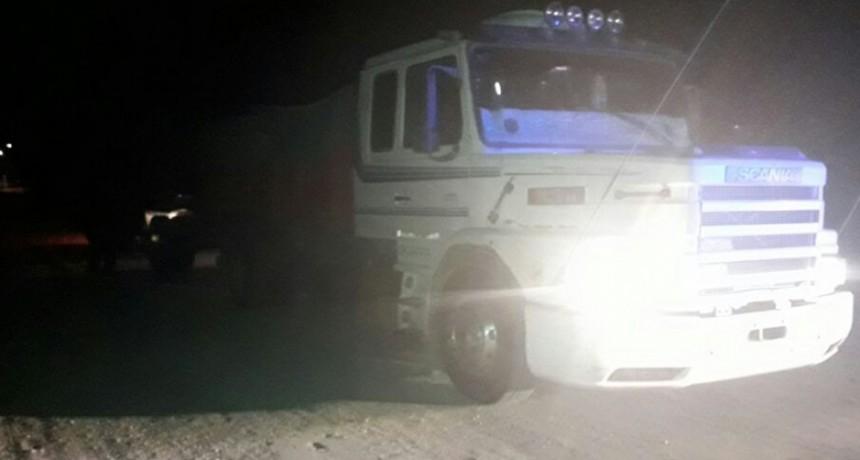 Se detectó un camión con más de 25 mil kilos de exceso en su carga