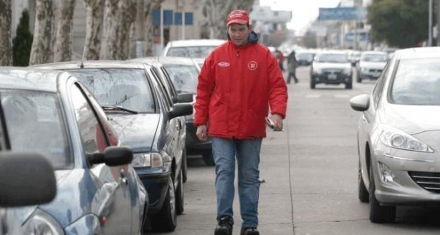La asociación de bomberos no seguirá con el estacionamiento medido