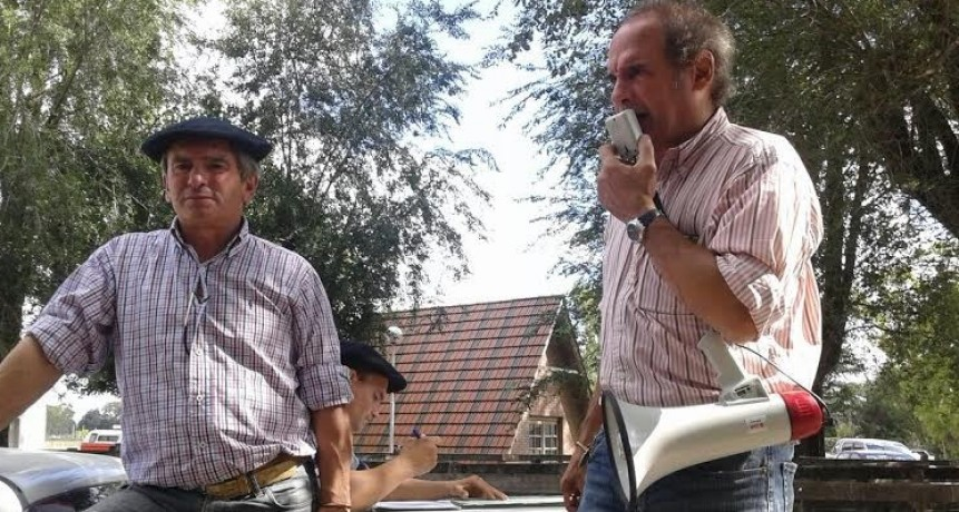 Remate Alzaga Unzué y Cía con Mario Esnal ayer en Olavarría