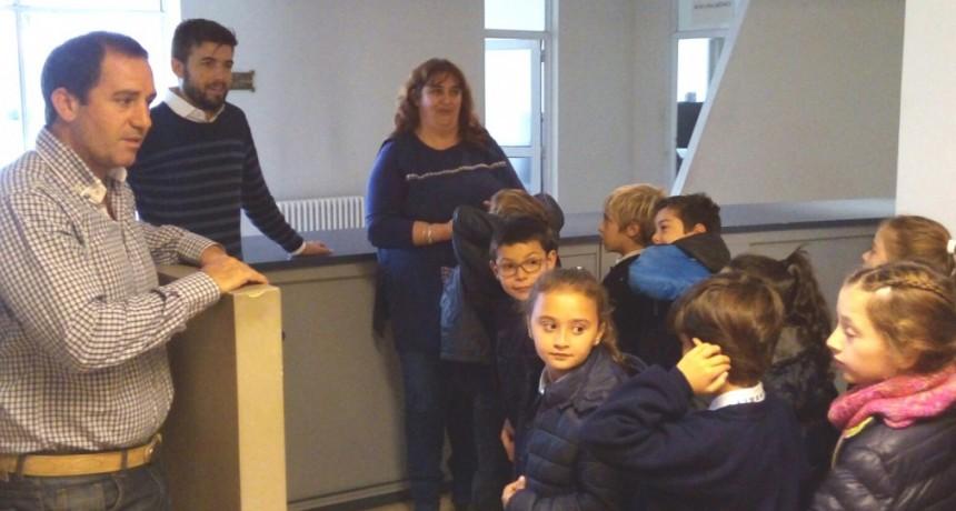 Alumnos del Colegio Libertas visitaron el Concejo Deliberante