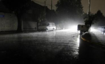 Un corte de luz dejó sin energía  a gran parte de la ciudad