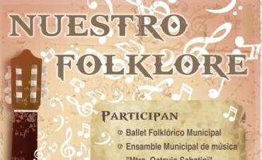 """""""Nuestro folklore"""" en conciertos didácticos"""