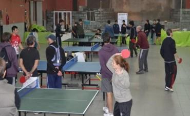 Tenis de Mesa: Torneo de Tercera y Cuarta