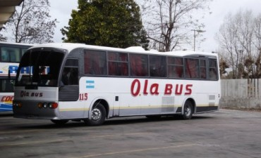 A partir de este sábado aumenta  el boleto de Ola Bus